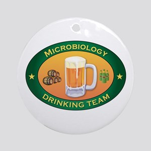 Microbiology Team Ornament (Round)