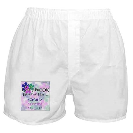 I Scrap, Therefore Boxer Shorts