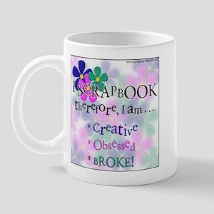 I Scrap, Therefore Mug