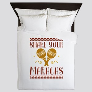 Shake Your Maracas Queen Duvet