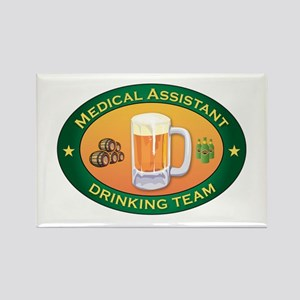 Medical Assistant Team Rectangle Magnet