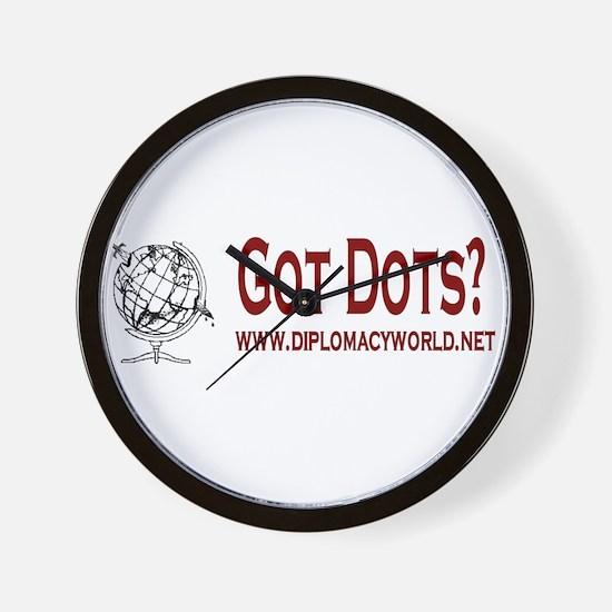 Got Dots? Wall Clock