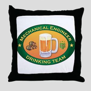 Mechanical Engineer Team Throw Pillow