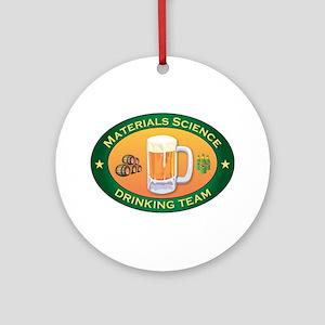 Materials Science Team Ornament (Round)