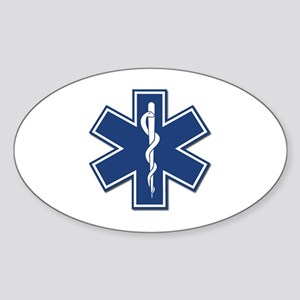 EMT Oval Sticker