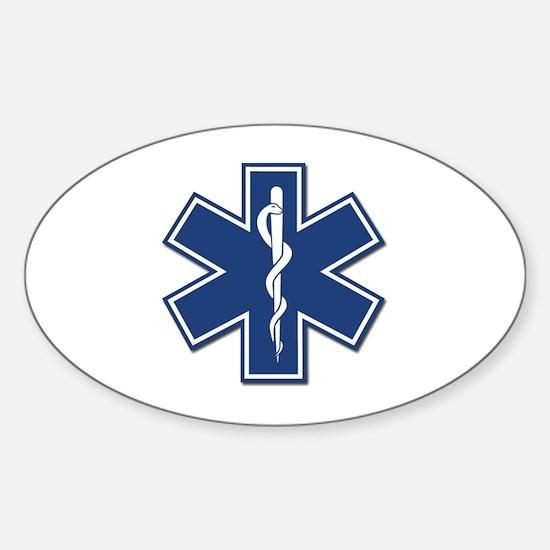 EMT Oval Decal