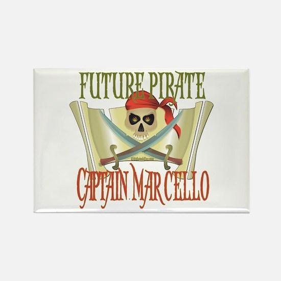 Captain Marcello Rectangle Magnet (100 pack)