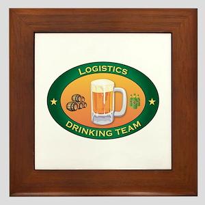 Logistics Team Framed Tile