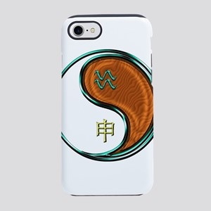 Aquarius & Wood Monkey iPhone 8/7 Tough Case