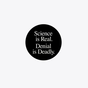 Science Is Real Mini Button