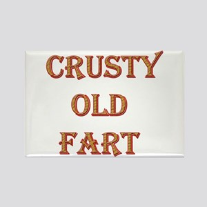 Crusty Old Fart Rectangle Magnet