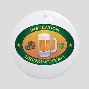 Insulation Team Ornament (Round)