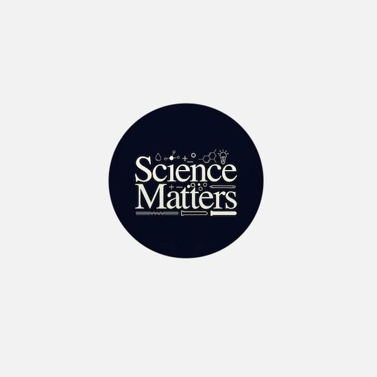 Science Matters Mini Button