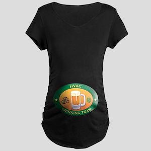 HVAC Team Maternity Dark T-Shirt