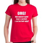 I Can Haz Hair? Women's Dark T-Shirt