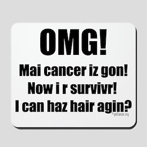 I Can Haz Hair? Mousepad