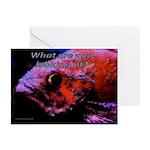 Fish graduate Greeting Cards (Pk of 20)
