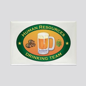 Human Resources Team Rectangle Magnet