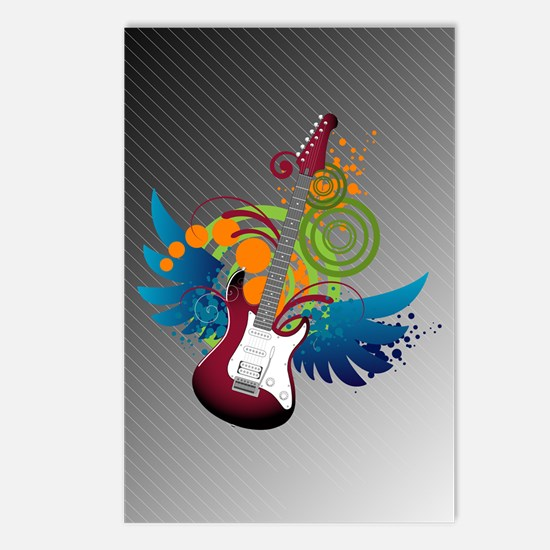 Guitar Fantasy Postcards (Package of 8)