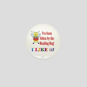 Reading Bug Mini Button
