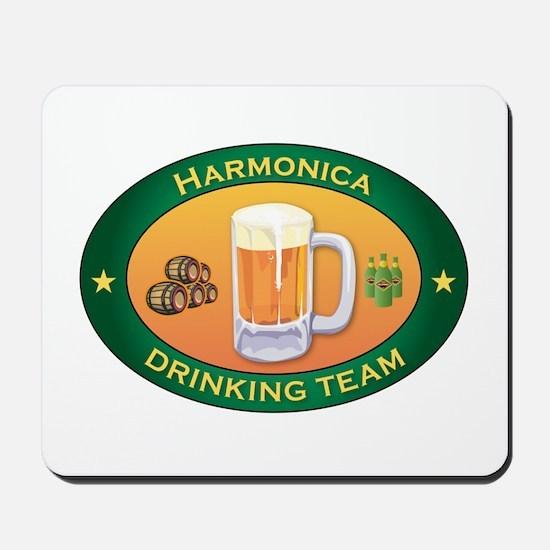 Harmonica Team Mousepad