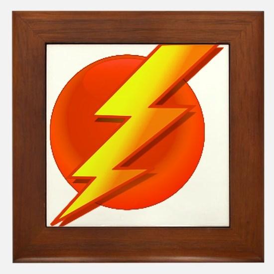 Superhero Framed Tile