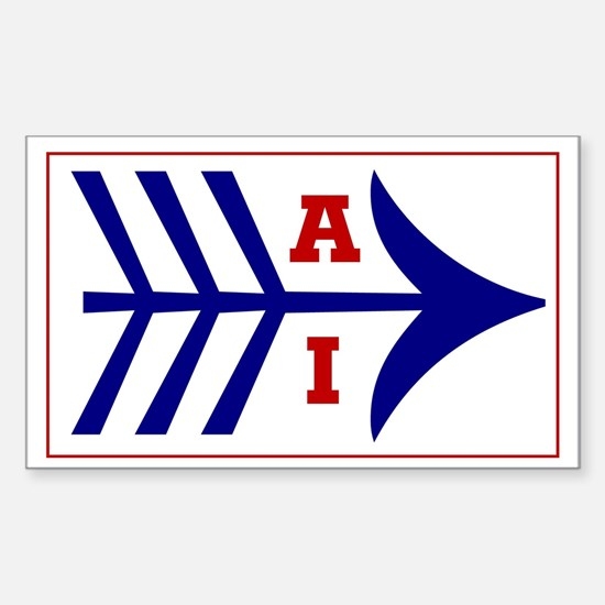 AI (American Indian) Rectangle Bumper Stickers