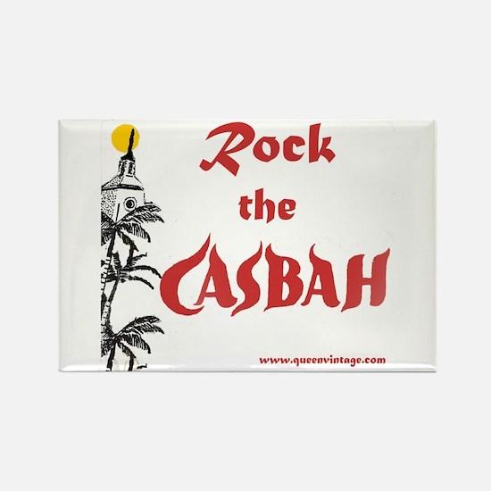 Rock the Casbah Rectangle Magnet