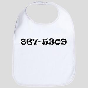 867-5309 Jenny Bib