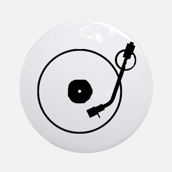 Turntable Ornament (Round)