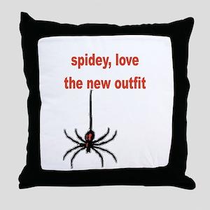 Spiderman 3 Throw Pillow