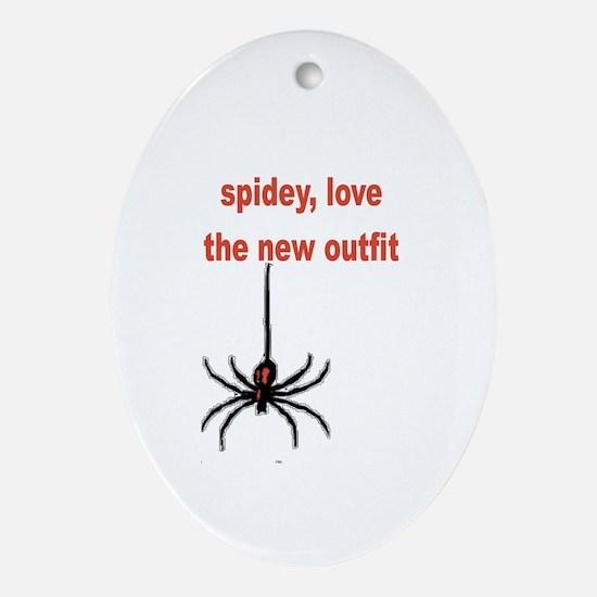 Spiderman 3 Oval Ornament
