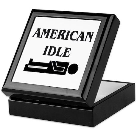 American Idle Keepsake Box