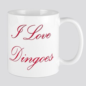 I Love Dingoes Mug