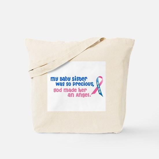 SIDS Angel 1 (Baby Sister) Tote Bag