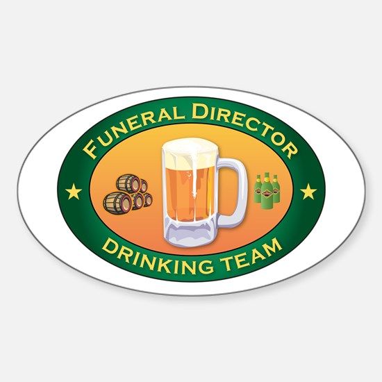 Funeral Director Team Oval Decal