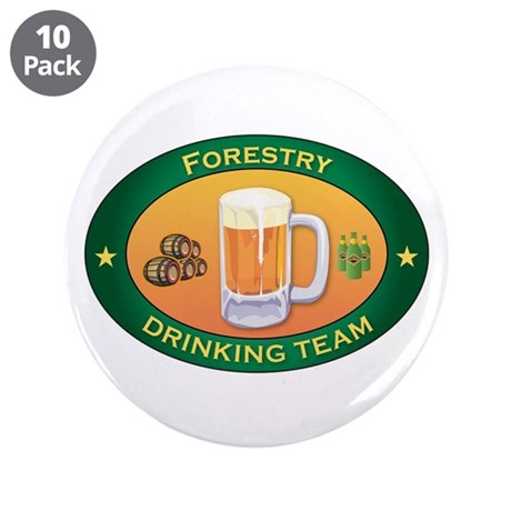 "Forestry Team 3.5"" Button (10 pack)"