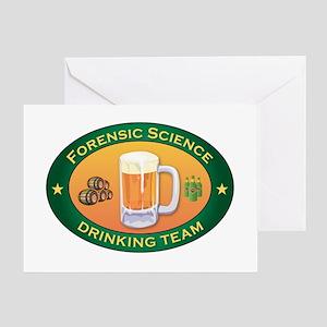 Forensic Science Team Greeting Card