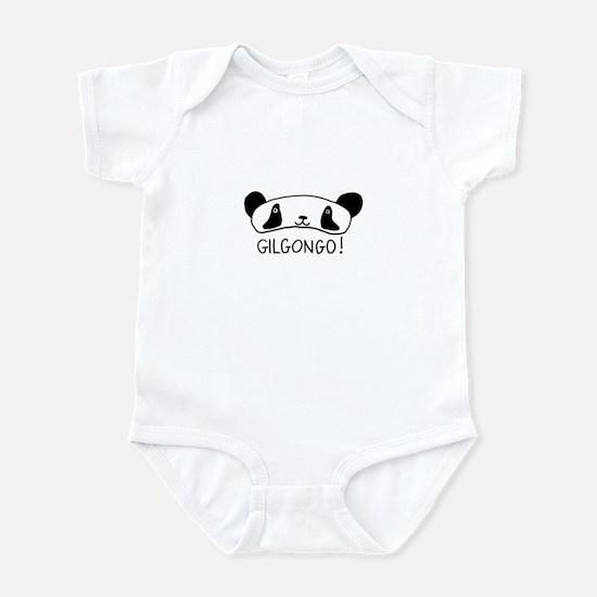 Gilgongo Panda Infant Bodysuit