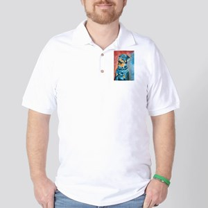 """""""Idol"""" a Rottweiler Golf Shirt"""