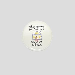 Nana's House Mini Button