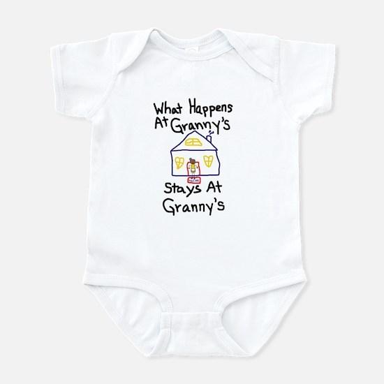 Granny's House Infant Bodysuit