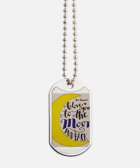 Cool I love you more Dog Tags