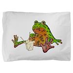 Oriental Fire-bellied Toad Pillow Sham