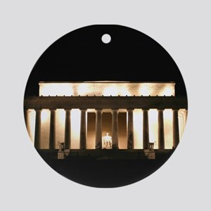Lincoln Memorial Merchandise Keepsake (Round)