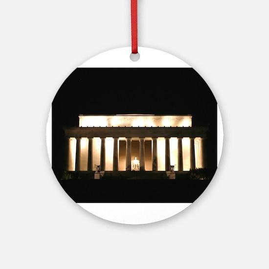 Lincoln Memorial Merchandise Keepsake (Round)