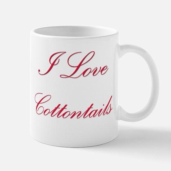 I Love Cottontails Mug