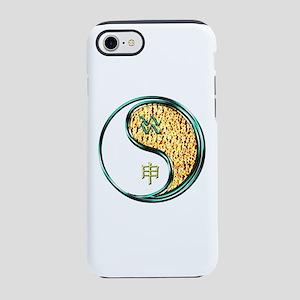 Aquarius & Fire Monkey iPhone 8/7 Tough Case