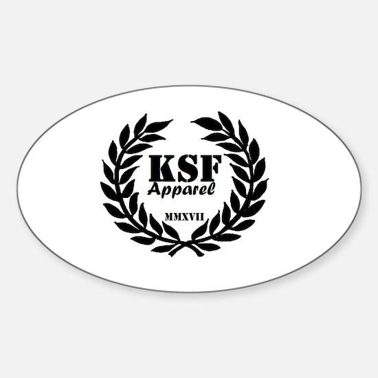 Unique Ksf Sticker (Oval)