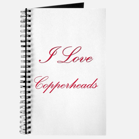 I Love Copperheads Journal